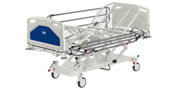 Функциональные кровати с механическими регулировками Famed